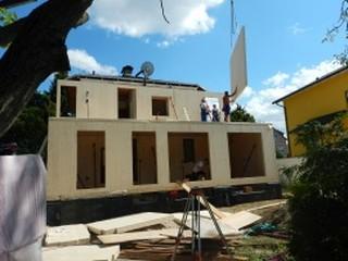 Haus WK Aufbau
