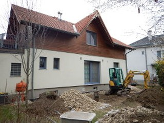 Baubeginn Haus J.